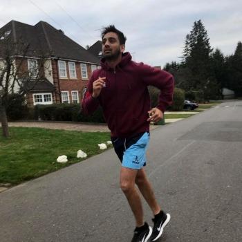 Krishna Runs the London Marathon 1