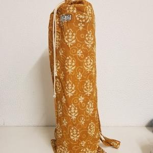 Hand Block Printed Yoga Mat Bag 1