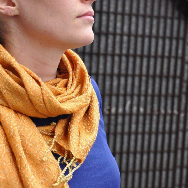 Patterned Viscose Scarves 5