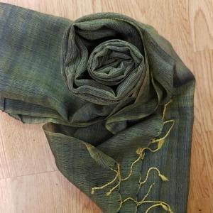 Silk/Wool Scarf 6