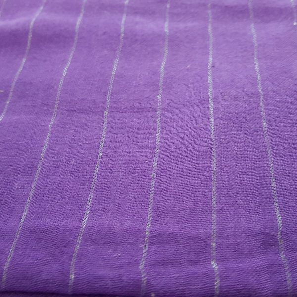 Silver Lined Cotton Scarves 1