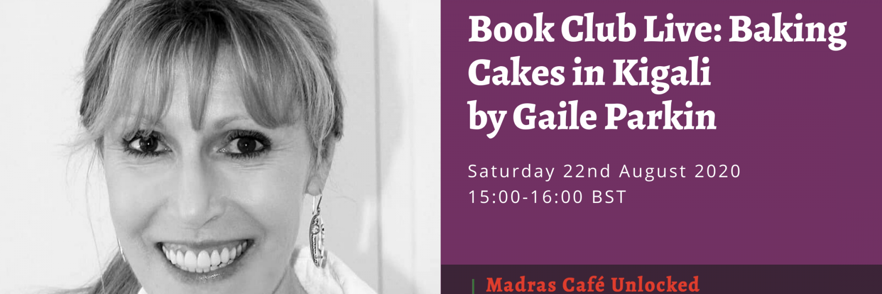 Book Club with author Gaile Parkin discussing her novel, Baking Cakes in Kigali. 3