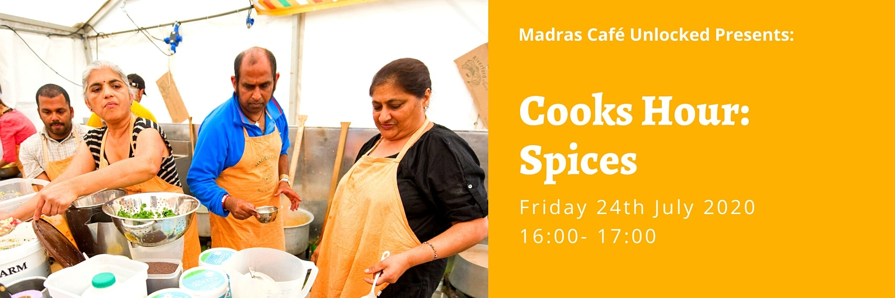 Cooks Hour: Spices Without Borders 1