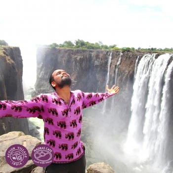 Madras Cafe Unlocked 2020: A World Peace and Friendship Walk with Nitin Sonawane
