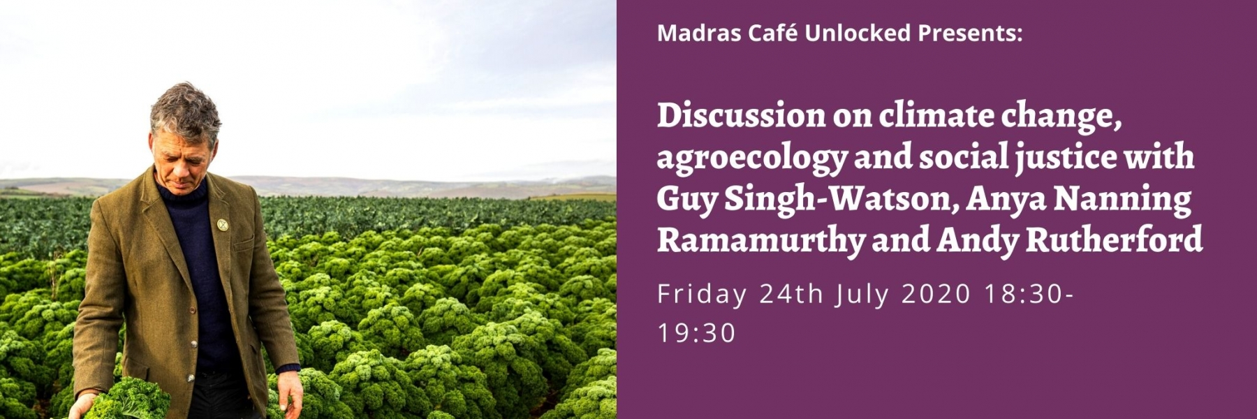 Madras Cafe Unlocked 2020: Discussion on Climate Change, agroecology and social justice