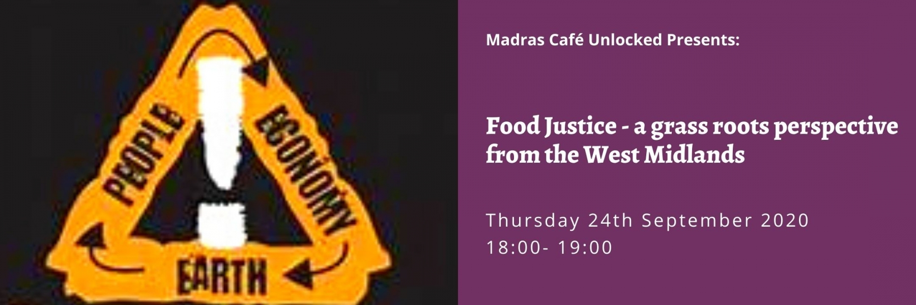 Food Justice - a grass roots perspective from the West Midlands