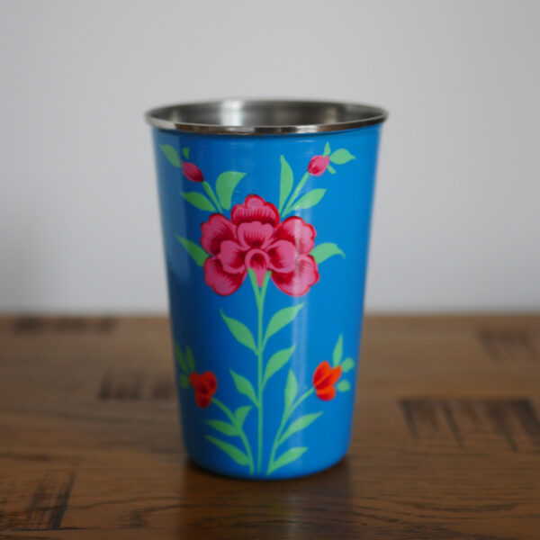 Hand-painted Steel Tumblers (large) 5