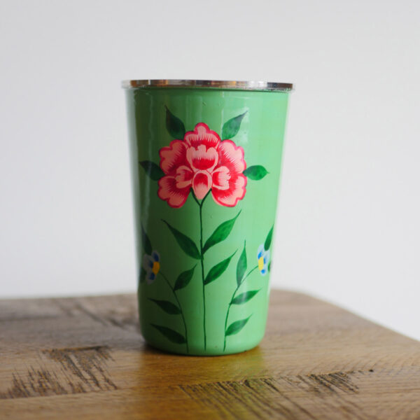 Hand-painted Steel Tumblers (large)