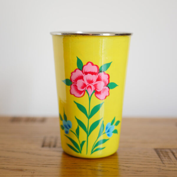 Hand-painted Steel Tumblers (large) 1