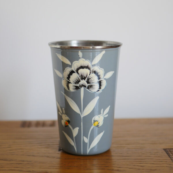Hand-painted Steel Tumblers (large) 2