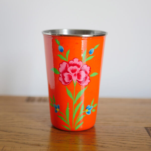 Hand-painted Steel Tumblers (large) 3