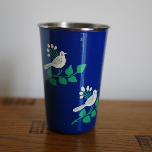 Hand-painted Steel Tumblers (large) 4