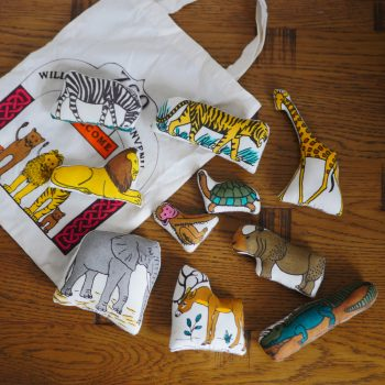 Zoo in a Bag Toy Set 6