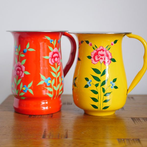 Hand-painted Steel Tumblers (large) (Copy) - Blue