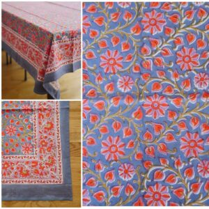 Table Cloths – Hand Blocked Printed 1