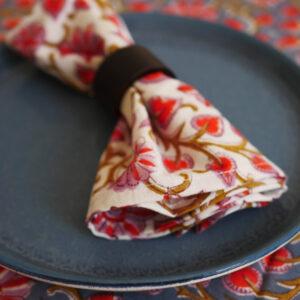 Table Napkins - Hand Blocked Printed