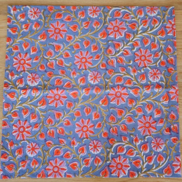 Table Napkins - Hand Blocked Printed 3