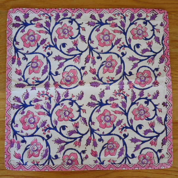 Table Napkins - Hand Blocked Printed 5