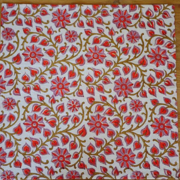 Table Napkins - Hand Blocked Printed 7