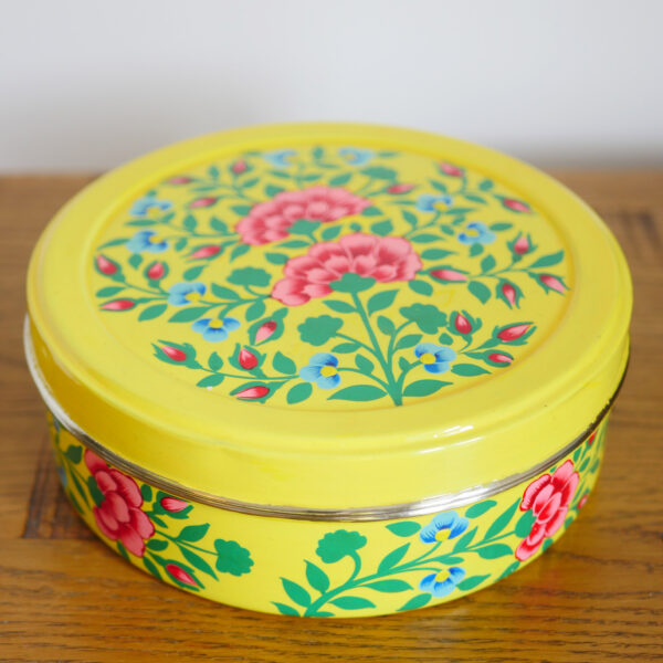 Hand-painted Spice Box - Grey 1