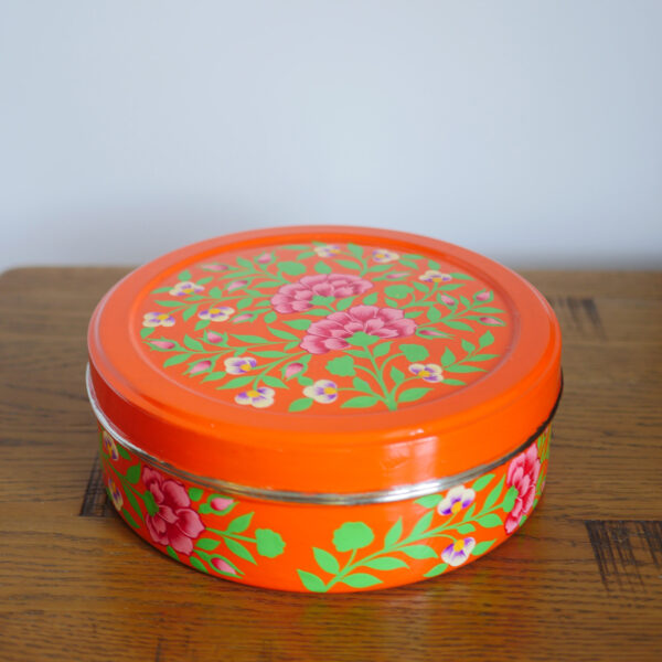 Hand-painted Spice Box - Grey 2