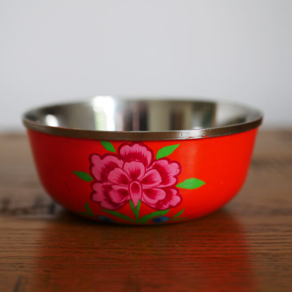 Hand-painted Steel Bowls 12