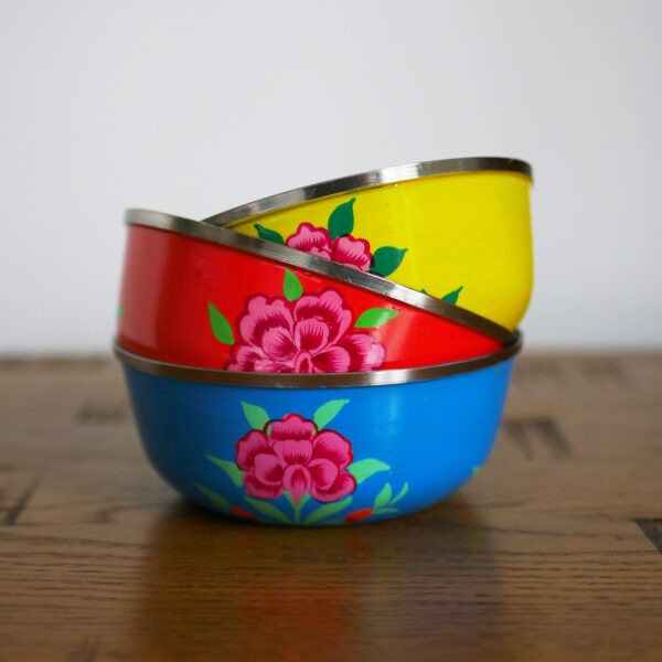 Hand-painted Steel Bowls 13