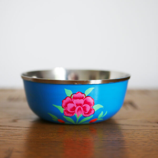 Hand-painted Steel Bowls 4