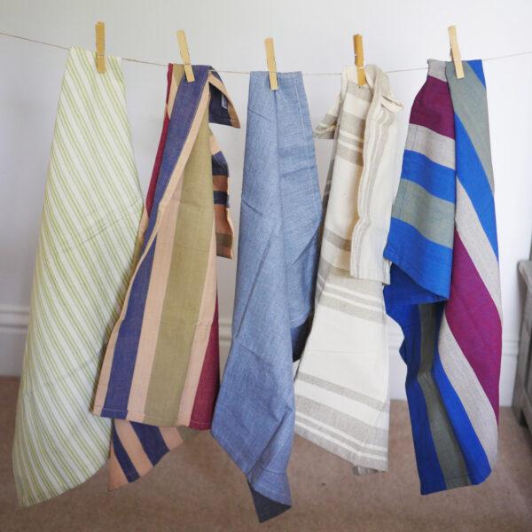 Handwoven Cotton Tea Towels 1