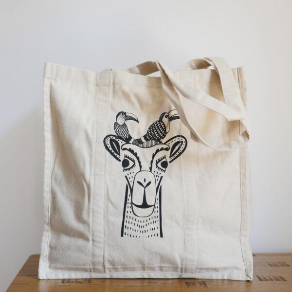 Organic Canvas Shopper Bags