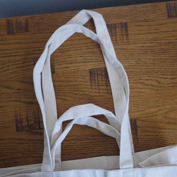 Organic Canvas Shopper Bags 1