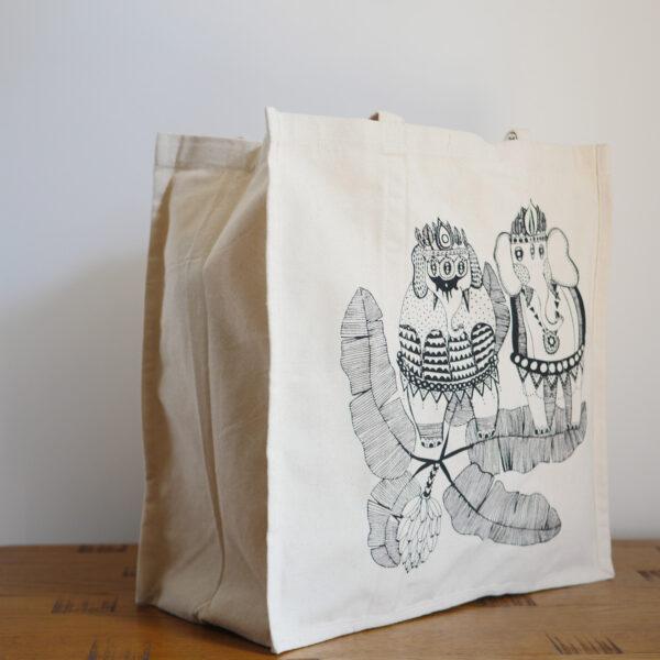 Organic Canvas Shopper Bags 2
