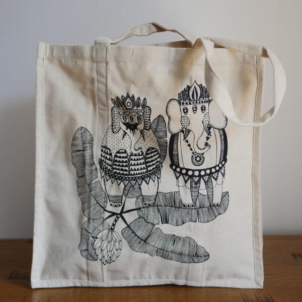 Organic Canvas Shopper Bags 3